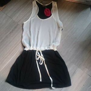 NWT! POOF Color Block Dress